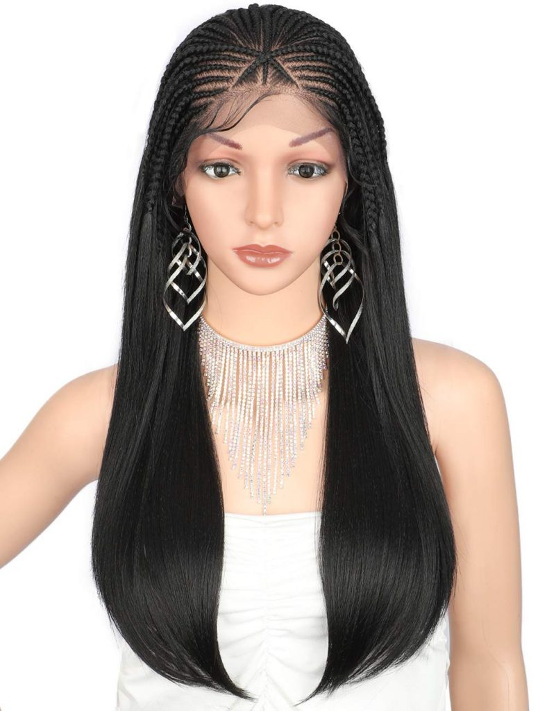 Hand Braided Lace Front Braided Wigs