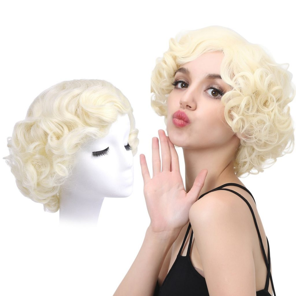 Marilyn Monroe Costume Wig for Party